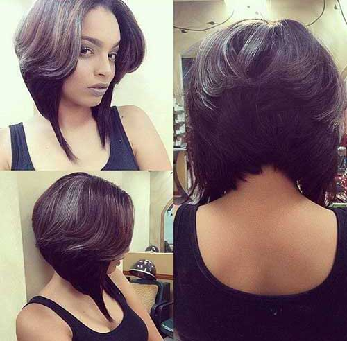 We Accept An Absurd Aculating Of 50 Best Bob Hairstyles For Atramentous Women To Try These Options Are Alluring Not Alone In Their Shapes But