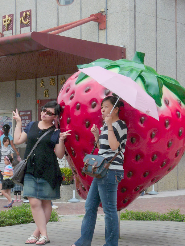 La capitale de la fraise à Taiwan