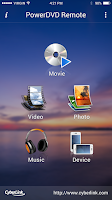 Screenshot of PowerDVD Remote FREE
