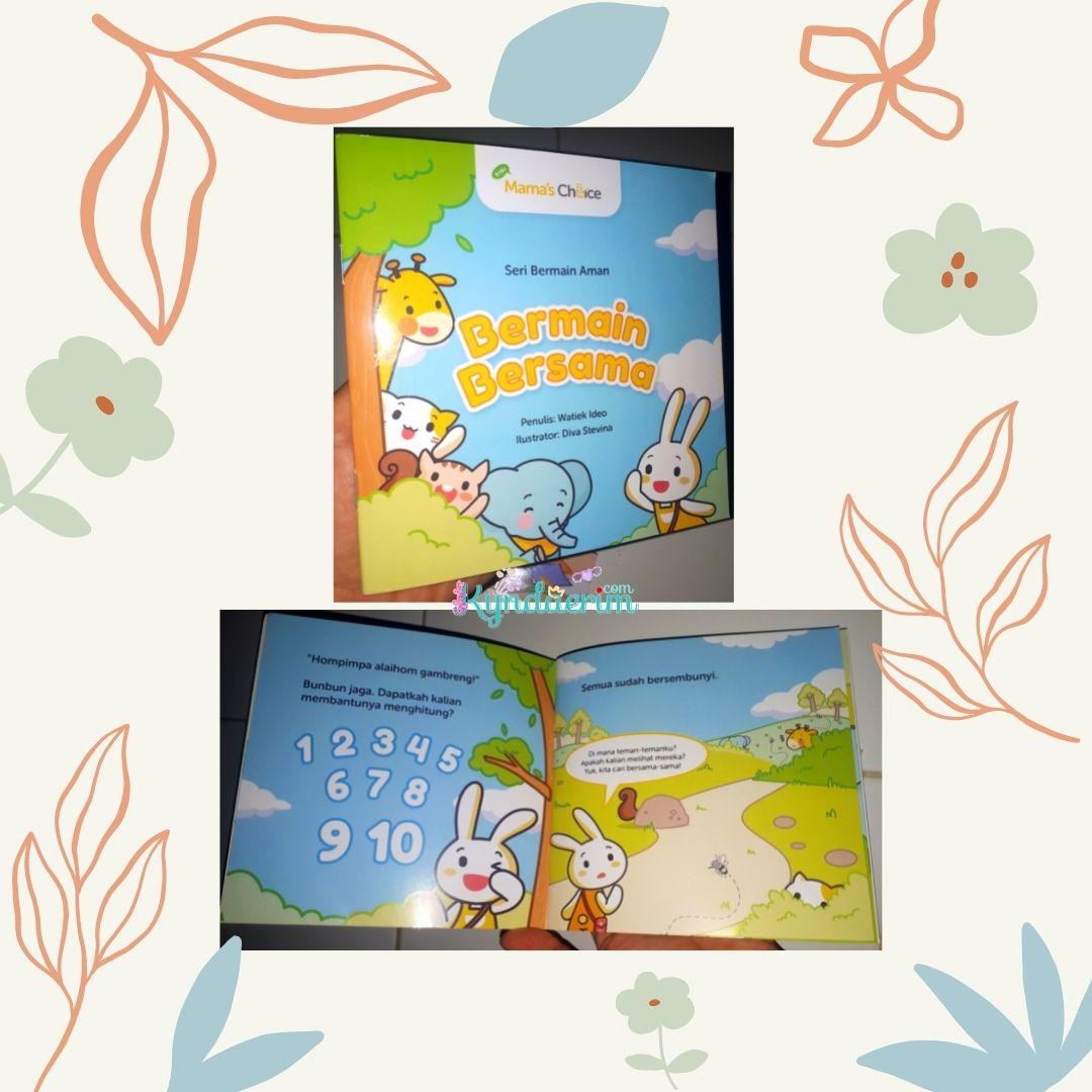 Mama's Choice Irish Bella Essential Kit dan buku cerita anak Dunia Bunbun