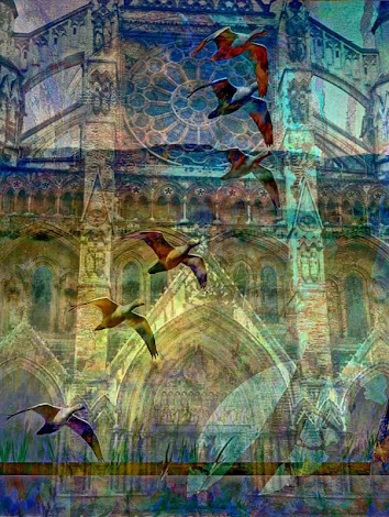 """The """"Westminster Cathedral"""" piece from the """"2007"""" collection"""