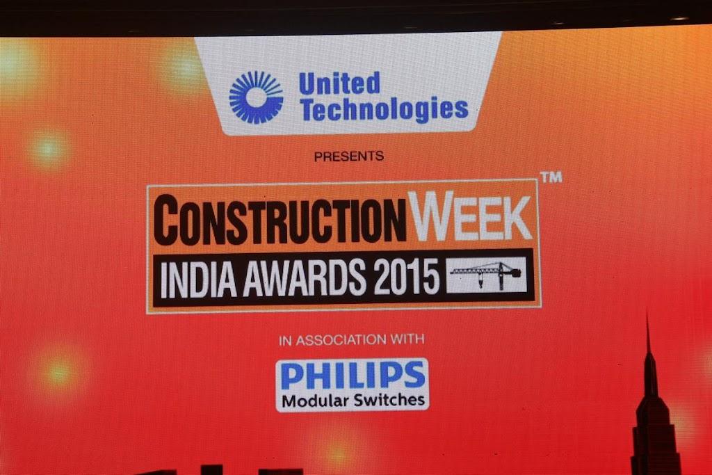 Construction Week India Awards 2015 - Sahara Star 7