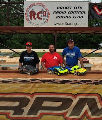 2WD SCT Mod - 1st: Daniel Myers, 2nd: Richard Beatty, 3rd: Tyler Schrimsher, TQ: Daniel Myers