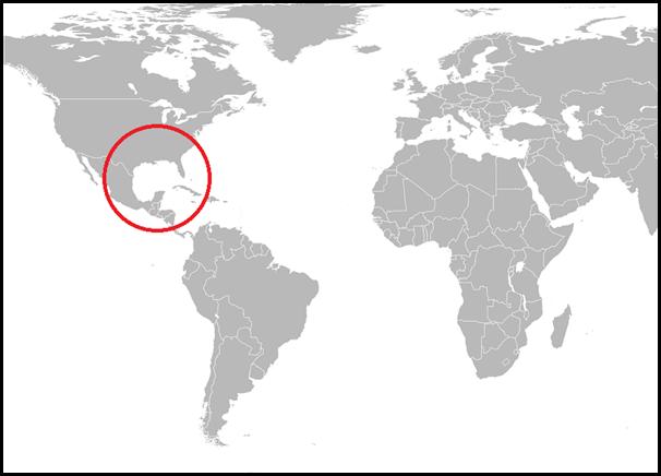 メキシコ湾