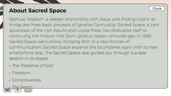 Sacred Space - náhled