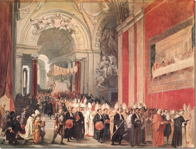 Fronleichnam Corpus_Christi_Procession_with_Pope_Gregory_XVI_in_the_Vatican