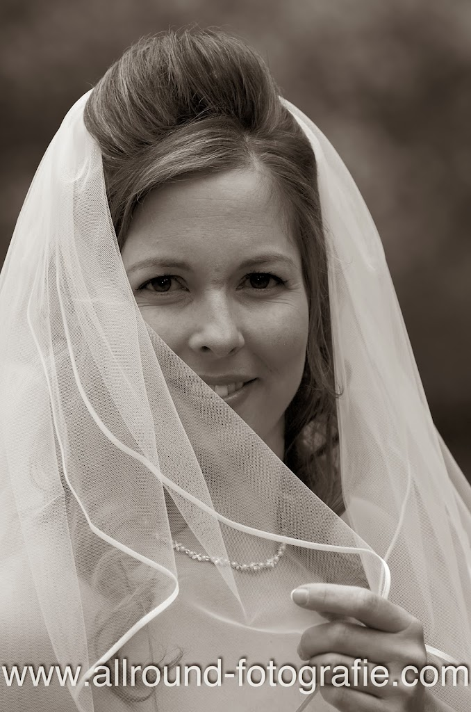 Bruidsreportage (Trouwfotograaf) - Foto van bruid - 028