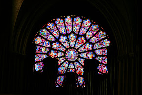 The west Rose Window, Notre Dame