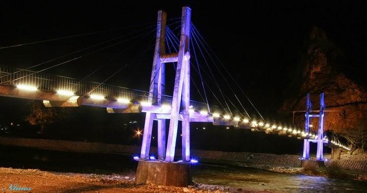 Κρεμαστή Πεζογέφυρα Πύλης