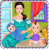 Baby sitter birth games