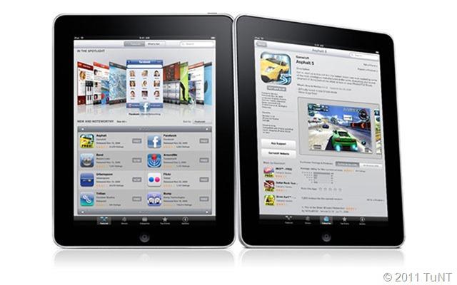 Wanna take one iPad?