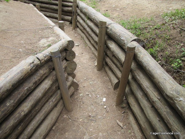 the trenches at gallipoli