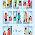 BLUE STAR HEAVY TWO TONE RAYON MID LENGTH KURTIS-RS 215 , DESIGNS-8 , SET RATE-RS 1720