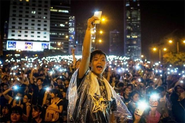 Những khoảnh khắc ấn tượng trong các cuộc bãi khoá – biểu tình của SVHS ở Hong Kong