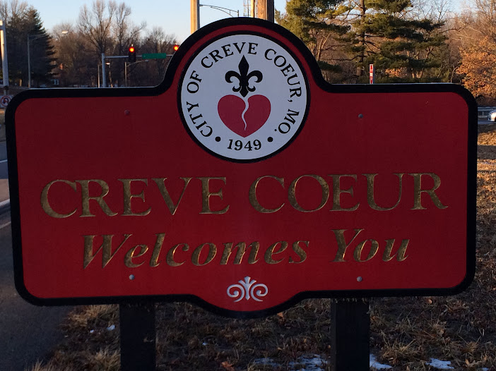 Creve Couer Welcome Sign | Creve Couer Pest Control
