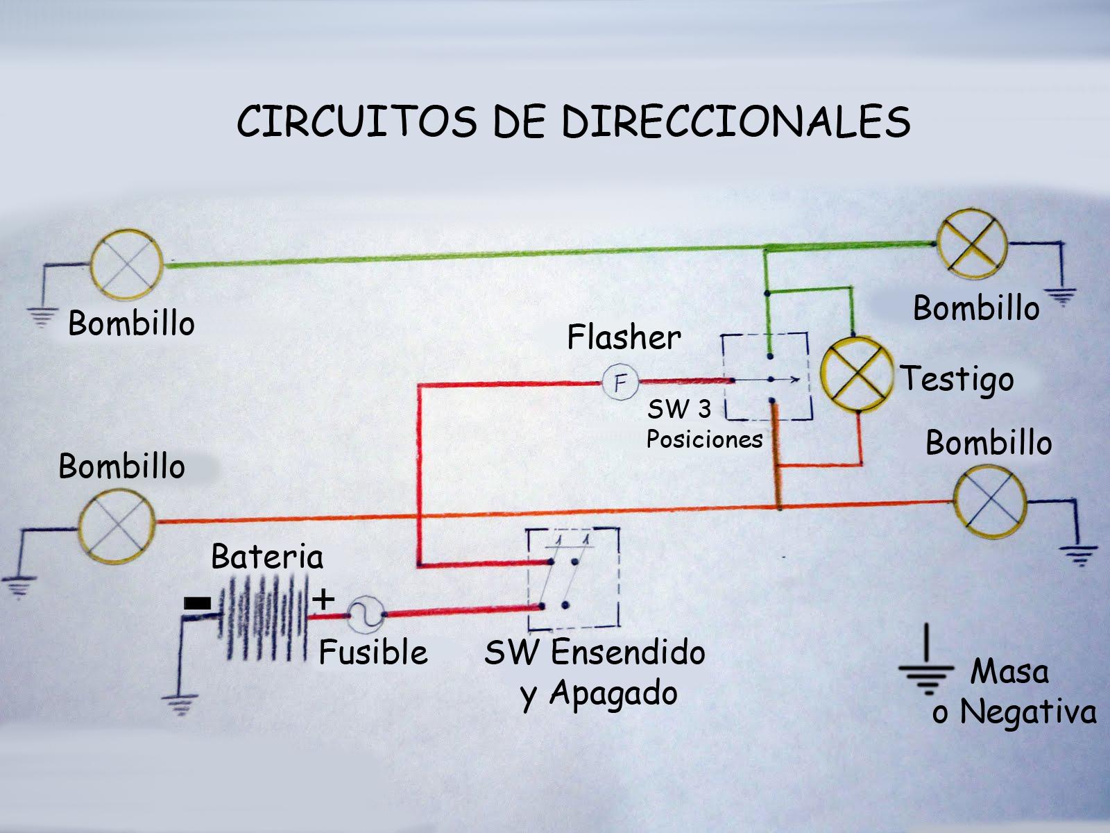 Circuito Electrico : Edwin motos circuito electrico de motos