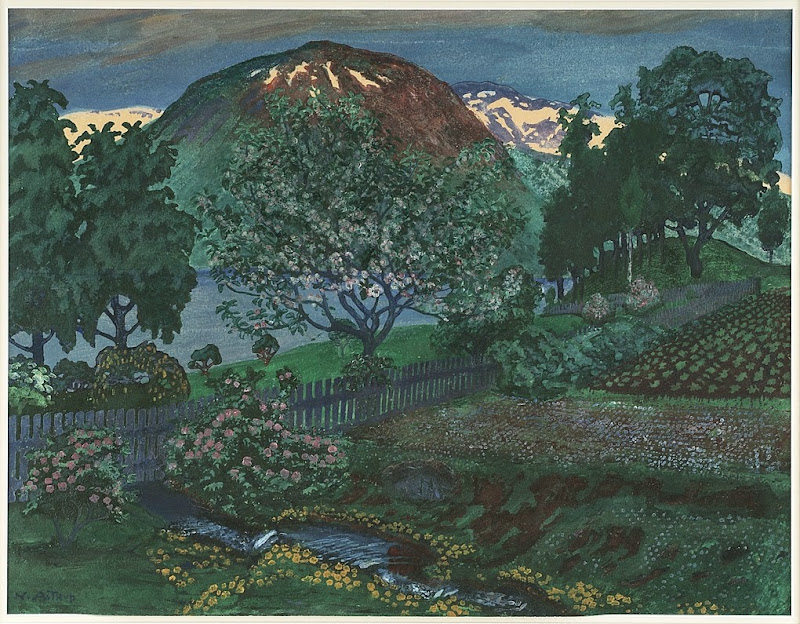 Nikolai Astrup - Night in June
