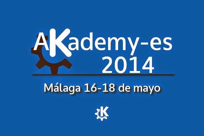 Akademy es 2014 se celebrará en Málaga del 16 al 18 de mayo