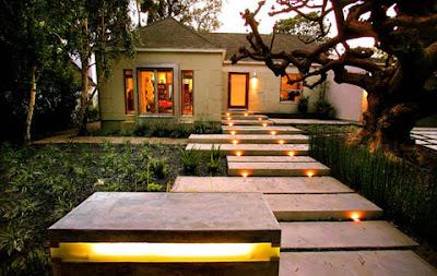 Walkway Outdoor Lighting Effects