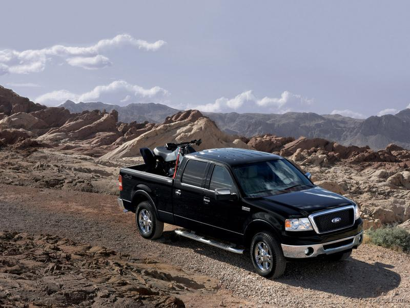 2008 ford f 150 supercab specifications pictures prices. Black Bedroom Furniture Sets. Home Design Ideas