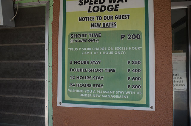Speed Way Lodge Rate