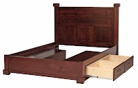 Cherry Beds with Storage