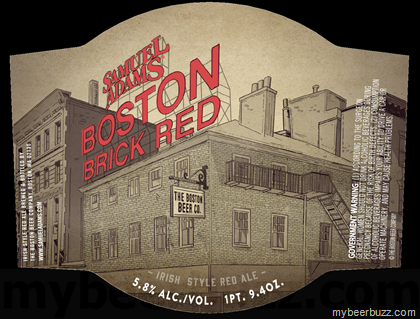 Here S Your Very First Look At A New Bottle Coming From Samuel Adams This Is Boston Brick Red And It An Irish Style Ale That Pays Tribute To