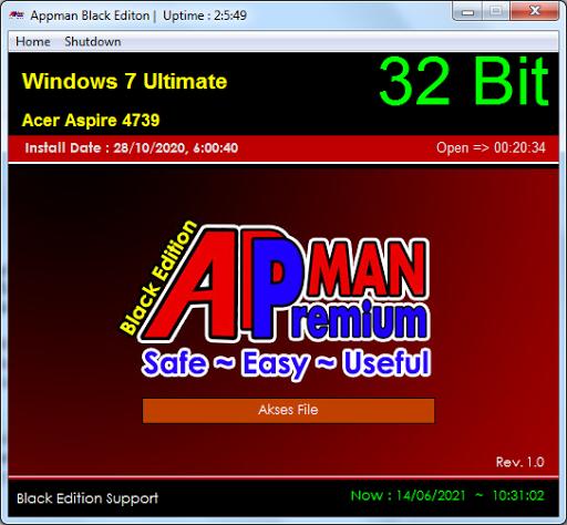 AppMan Black Edition