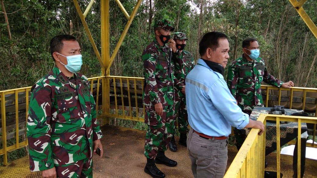Waaslog Panglima TNI Melakukan Kunjungan ke Lokasi IKN di PPU