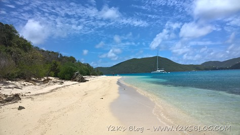 Spiaggia di Vixen Point - Prickly Pear Island - Virgin Gorda