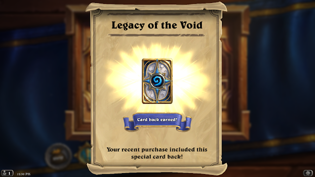 Hearthstone: Starcraft II Legacy of the Void