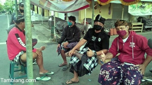 Langkah Cegah Penyebaran Covid-19 di Desa Tamblang