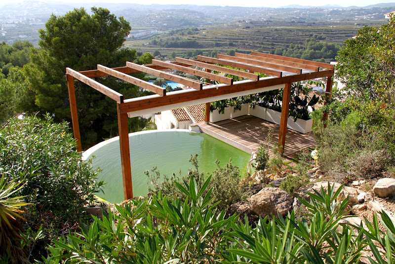 Piscina natural depurada por un jard n vertical for Piscina y jardin 2002 s l