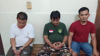 Polisi Ringkus 3 Pelaku Pesta Sabu di Telagasari