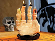 Witch Hand Candle Holder
