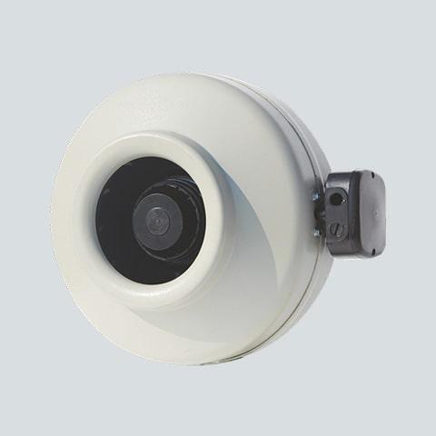 Circular Inline Fan - 544 CFM [Model CI160-2E-S3]