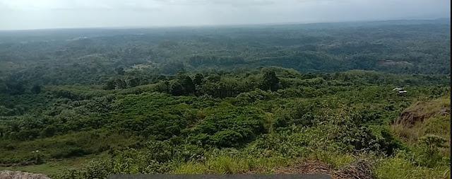 keindahan alam bukit kandis
