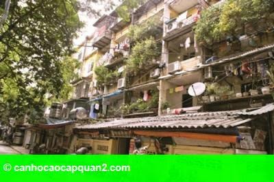 Hình 1: Tư duy mới trong cải tạo chung cư cũ