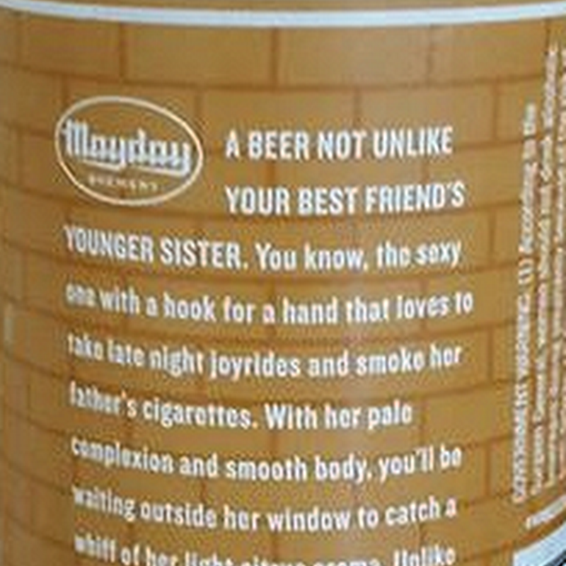 Mayday Brewery Apologizes For Boro Blonde Can Packaging Text