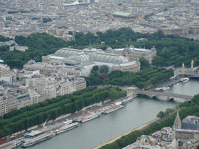 Le Grand Palais from The Eiffel Tower