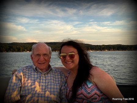 Grandpa and Kathleen