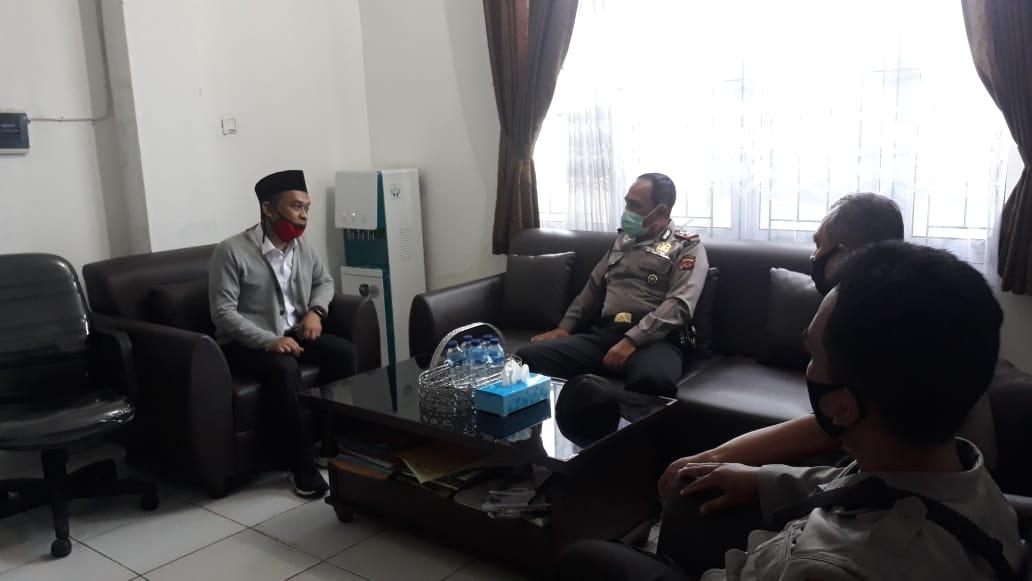 Kasat Binmas Polres Bogor Kota Lakukan Kordinasi Ke Beberapa SMA/SMK