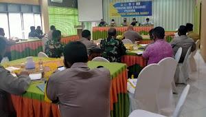 Hadiri Anev Tahapan  Pilkada Kabupaten Sumbawa Barat, Ini Harapan Dandim 1628/SB