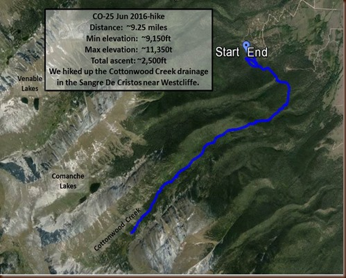 Westcliffe-25 Jun 2016-hike