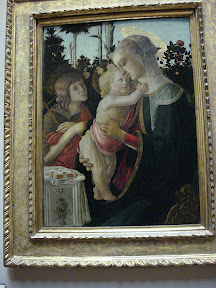 The Virgin and Child with a young John the Baptist - Botticelli
