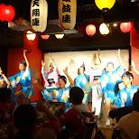 Awa Odori performances in Shinjuku in Tokyo, Tokyo, Japan