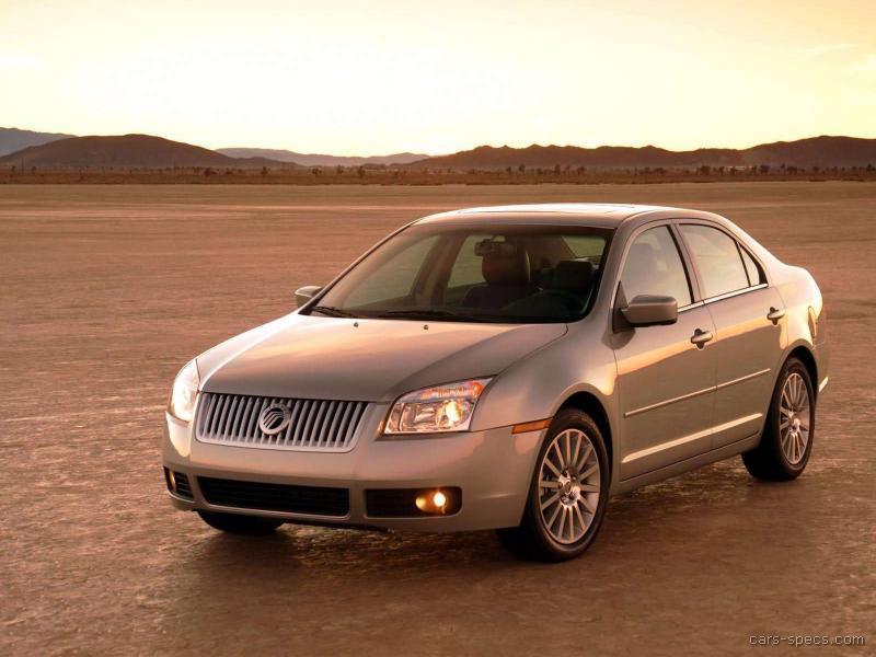 2006 Mercury Milan Sedan Specifications Pictures Prices