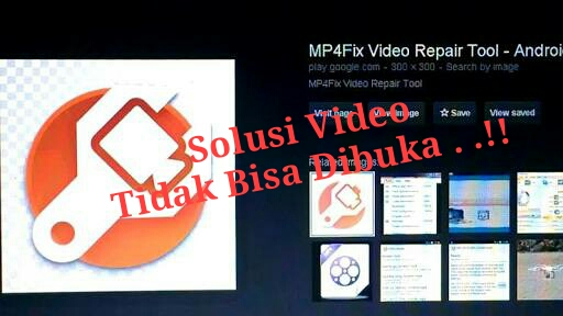 Memperbaiki video tidak bisa dibuka diandroid