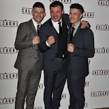 OIC - ENTSIMAGES.COM - Joe Junior Calzaghe, Joe Calzaghe and Connor  Calzaghe at the  Mr Calzaghe - gala film screening in London 18th November 2015Photo Mobis Photos/OIC 0203 174 1069