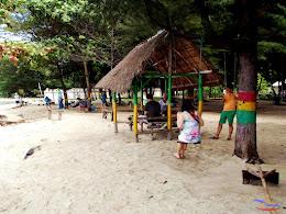 family trip pulau pari 140716 Fuji 010